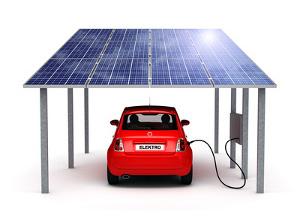 Solaranlage PV-Anlage KFZ